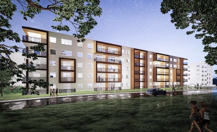 mieszkanie na sprzedaż - Piła, Górne